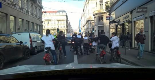 Mobilisation à Lyon