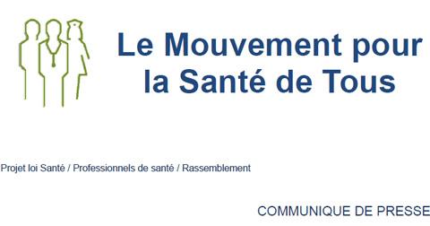 Le Mouvement pour la Santé de Tous : Lettre envoyée à François Hollande