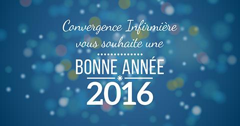Convergence Infirmière vous souhaite une bonne année