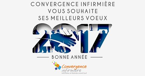 Convergence Infirmière : Bonne année 2017