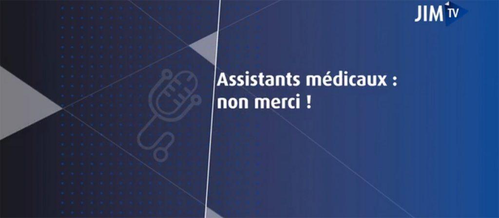 Assistants médicaux ? Non merci ! L'interview de Ghislaine Sicre, Présidente de Convergence Infirmière