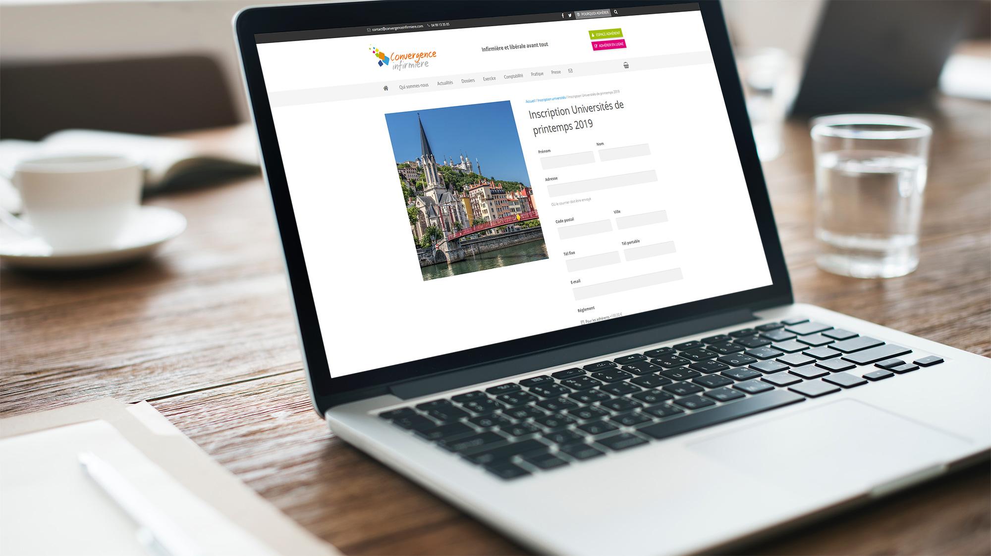 Universités de Convergence Infirmière : les inscriptions en ligne sont ouvertes !