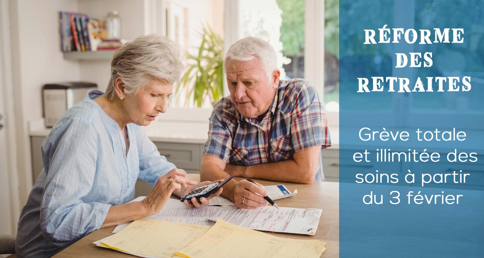Réformes des retraites : zéro avancée, infirmières en danger !
