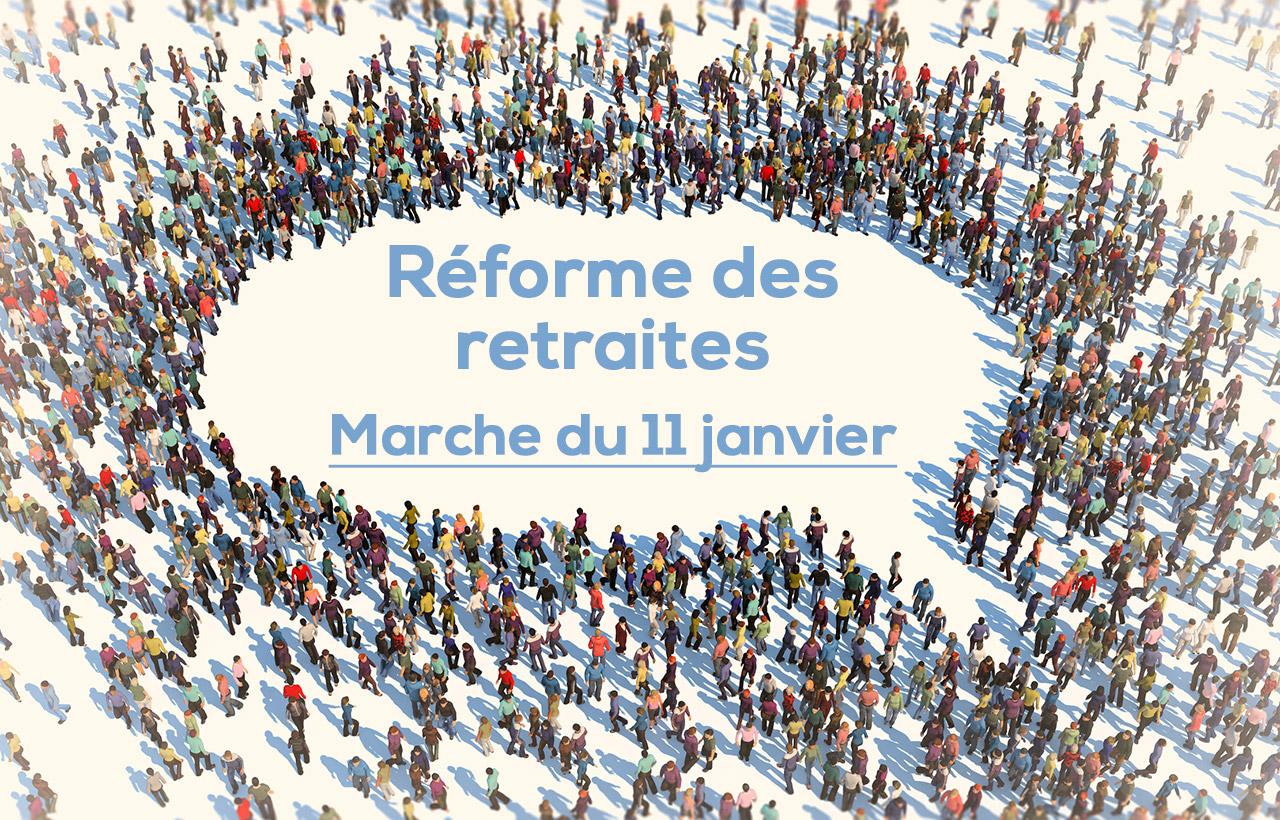Réforme des retraites : le 11 janvier promet une ″convergence″ des luttes !