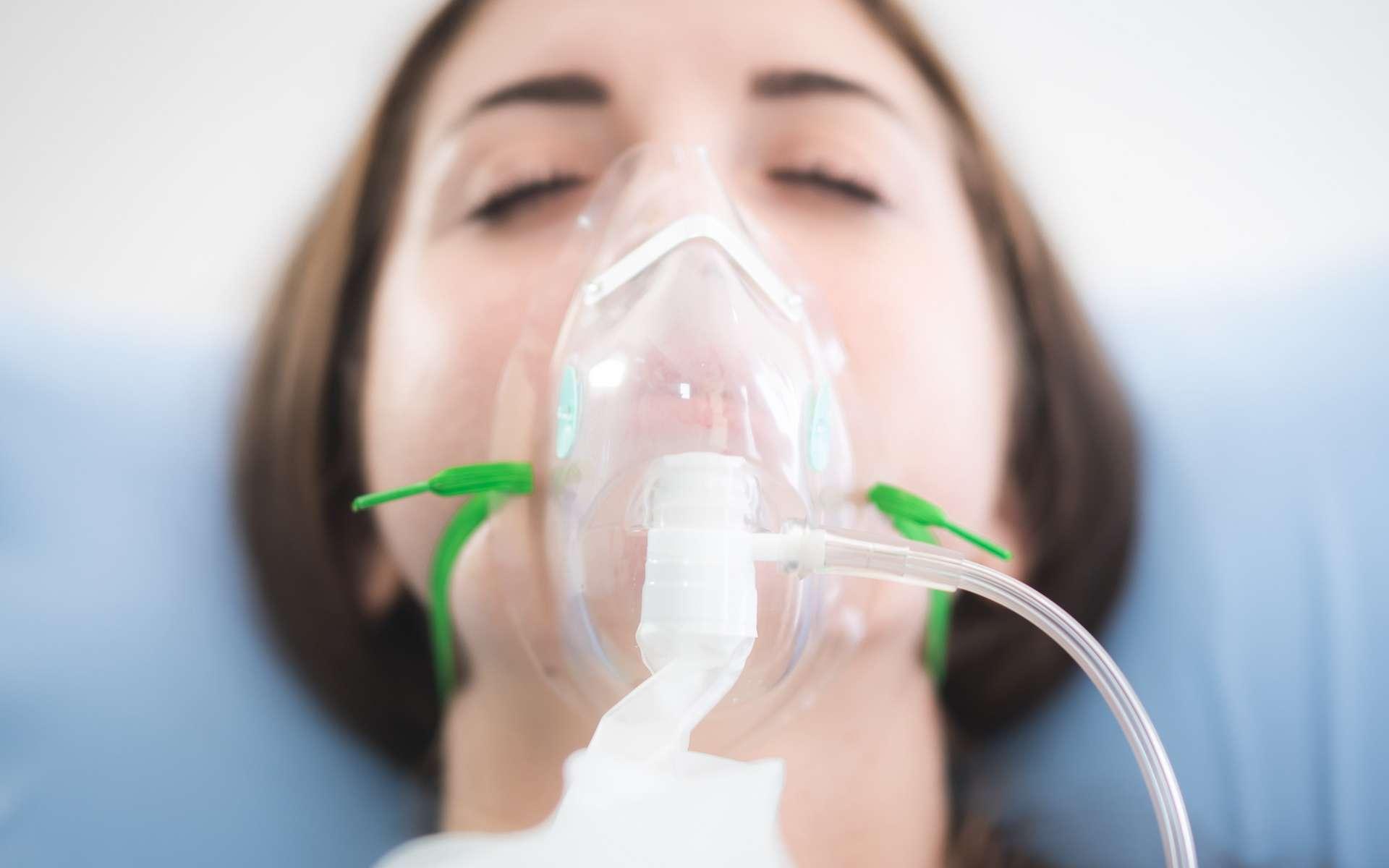 Oxygénothérapie à domicile : patient ayant des soins infirmiers courants pendant les 10 jours suivants un test COVID positif
